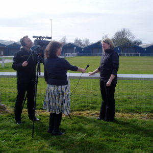 British Eventing Executives Are Put Through Their Paces