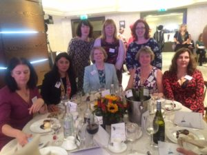 Meeting The Prime Minister at Women of The Year Lunch 2016
