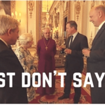 Just don't say it!