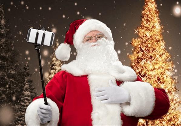 Santa's Selfie Strategy Needs Work