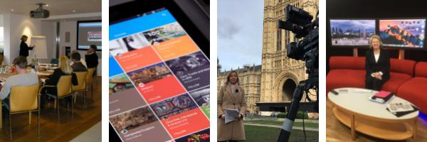 Broadcast PR training course London
