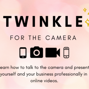 Twinkle For The Camera Workshop