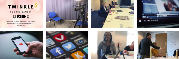 Twinkle for the camera online video skills training london