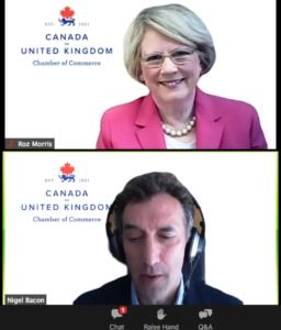 TVNL runs webinar for the Canada UK Chamber of Commerce