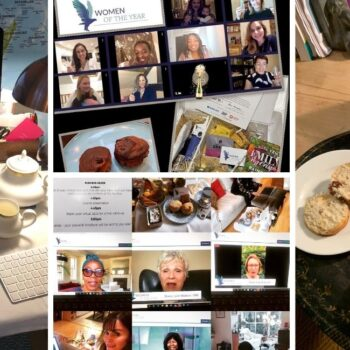 Women of the Year Holds Unique Online Afternoon Tea Event