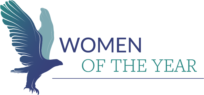 Women of the year logo