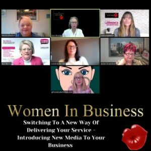 Roz Morris on The Women in Business Radio Show