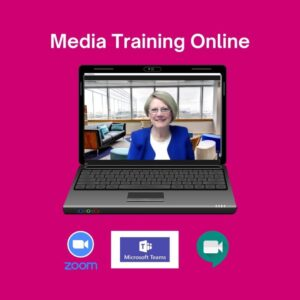 Roz morris media training online