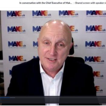 Roz Interviews CEO of MAKE UK