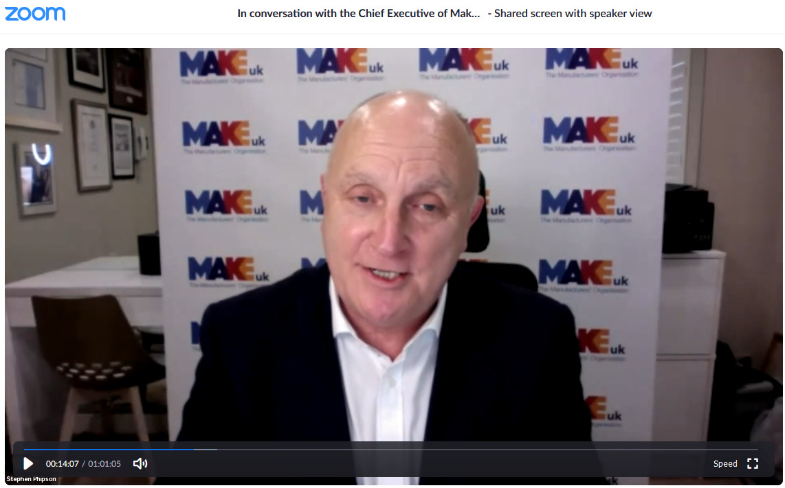 You are currently viewing Roz Interviews CEO of MAKE UK