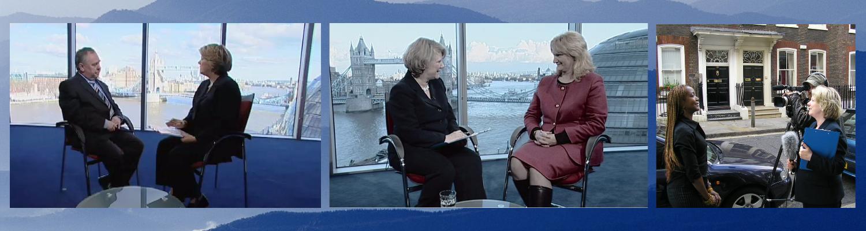 Media Training interviews in London TV studios