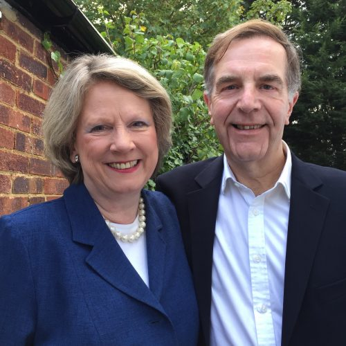 Roz Morris and Malcolm Douglas