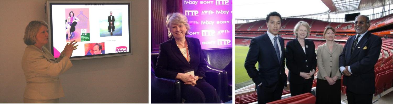 Roz Morris TV News London Media Training